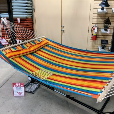 Quilted Hammock with Poly Sleeves
