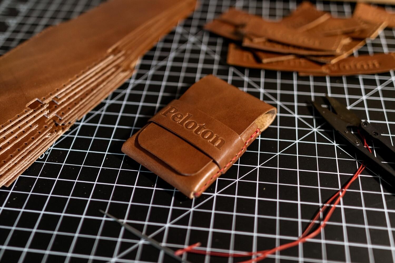 "Peloton x Lost Dutchman Handmade Leather ""Finnigan"" Wallet"