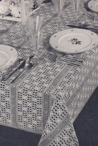 Marcel Afghan Knitting Pattern : 1000+ images about Crochet - Tablecloths on Pinterest ...