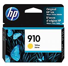 HP 910 Original Ink Cartridge, Yellow 3YL60AN