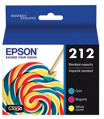 Epson 212 Multi-pack - 3-pack - yellow, cyan, magenta - original - ink cartridge - for Expression Home XP-4100; WorkForce WF-2830
