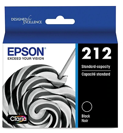 Epson 212 - Black - original - ink cartridge - for Expression Home XP-4100; WorkForce WF-2830