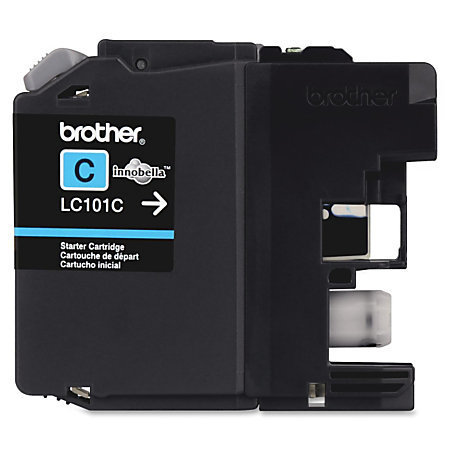 Brother® LC101-C Cyan Ink Cartridge
