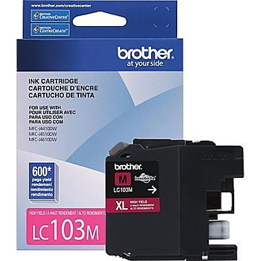Brother LC103M Ink Cartridge - Magenta