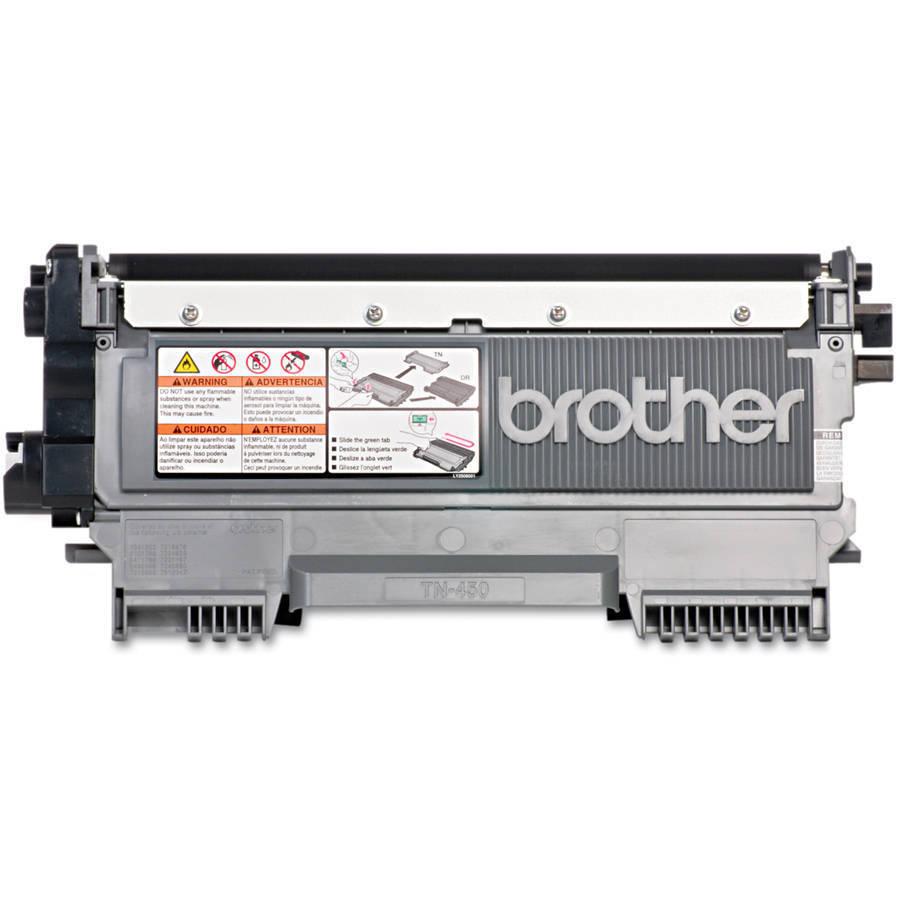Brother® TN-450 High-Yield Black Toner Cartridge