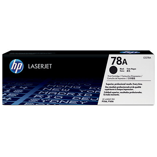 HP 78A, Black Original Toner Cartridge (CE278A)