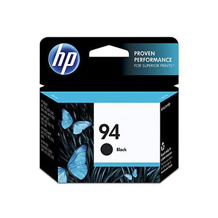 HP 94, Black Ink Cartridge With Vivera Original Ink (C8765WN)