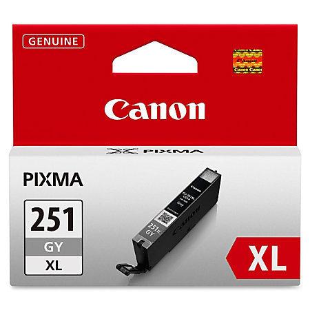 Canon CLI-251XL High-Yield Gray Ink Tank (CLI-251G XL)