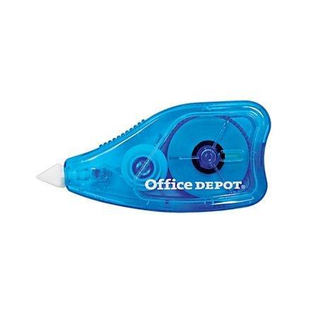 Office Depot Brand Jumbo Correction Tape, Pack Of 2