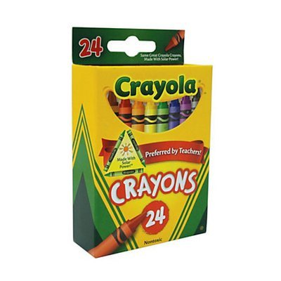Crayola Standard Crayon Set Box of 24