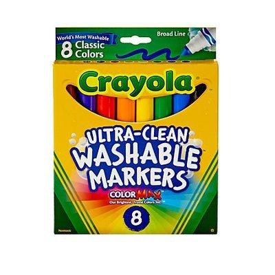 Crayola Washable Markers Box of 8