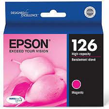 Epson® 126, (T126320) DuraBrite® Ultra High-Capacity Magenta Ink Cartridge
