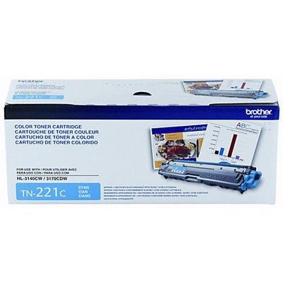 Brother® TN-221C Cyan Toner Cartridge