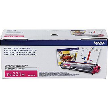 Brother® TN-221M Magenta Toner Cartridge