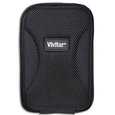 Vivitar Small Hard Shell Digital Camera Case, Black