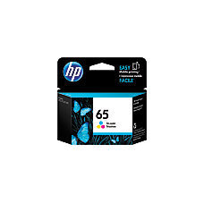 HP 65 Tricolor Ink Cartridge (Use for Deskjet Printer)