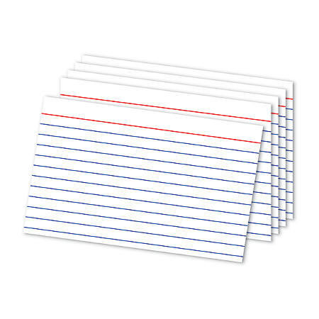 "Office Depot® Brand Ruled Index Card, 4""x 6"", Pack Of 500"