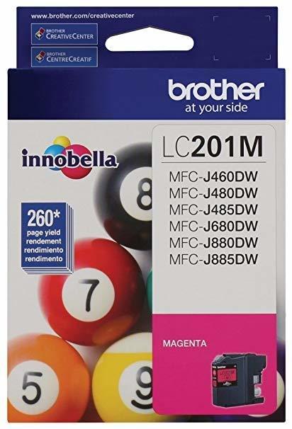 Brother LC201M Magenta Ink Cartridge