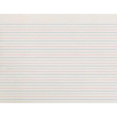 Pacon® Broken Midline Writing Paper, Grade 2-3, 1/2