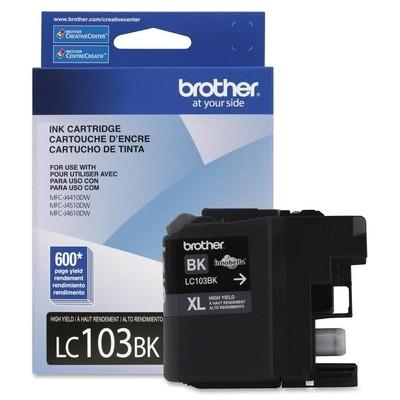 Brother LC103BK Ink Cartridge - Black