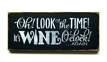 It's Sunday. It's 3:00 PM. It's 'Wine O'Clock' at Wine Stop.