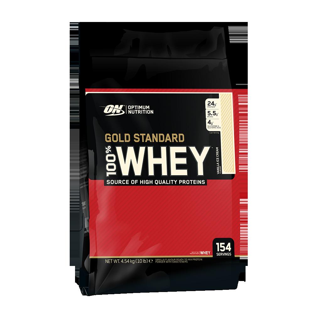 Optimum Nutrition Gold Standard 100% Whey 10lb 748927028737(base)