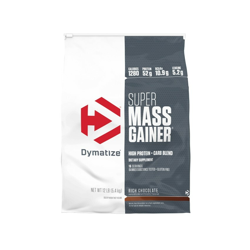 Dymatize Super Mass Gainer - 12lb 705016331529