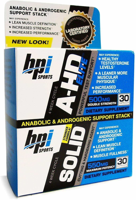 BPI Sports A-HD Elite / Solid Combo 10053