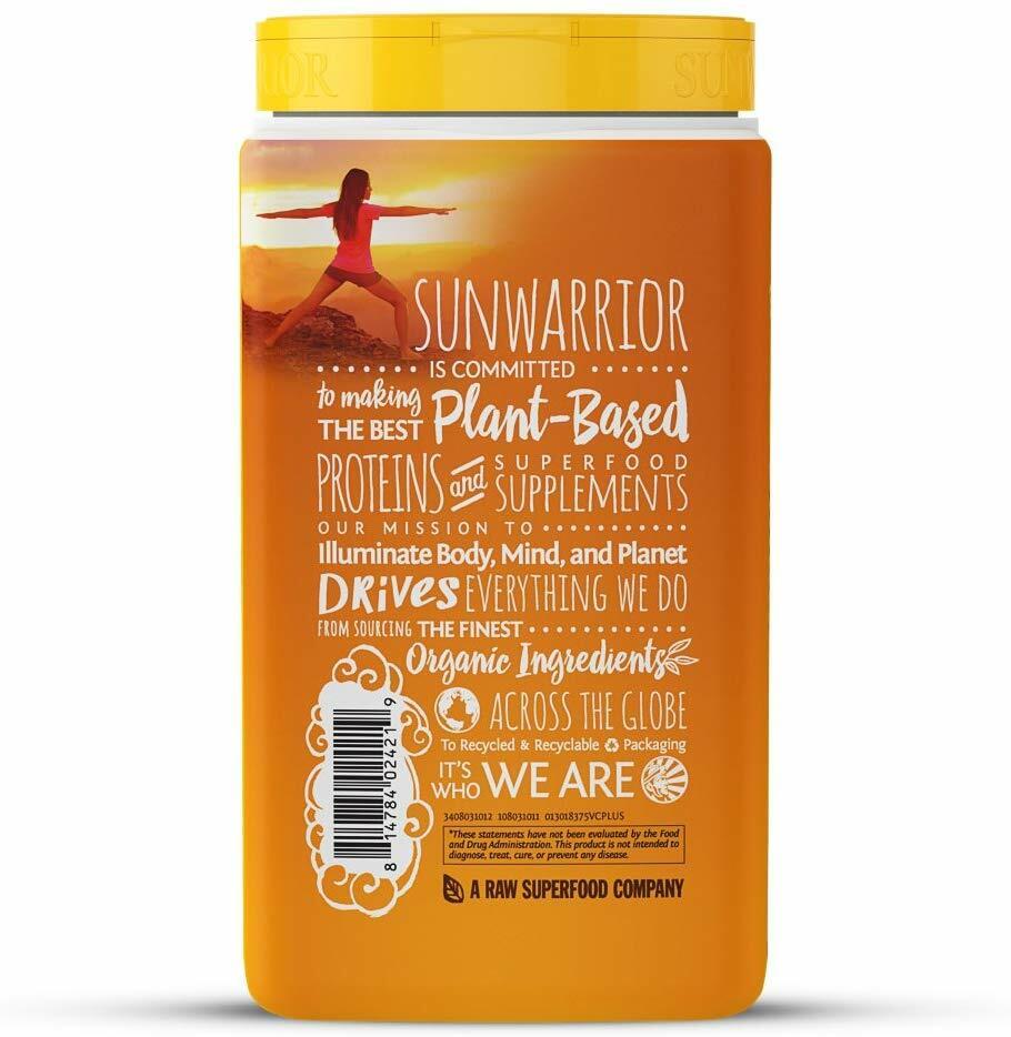 SunWarrior Organic Classic Plus Protein 375g