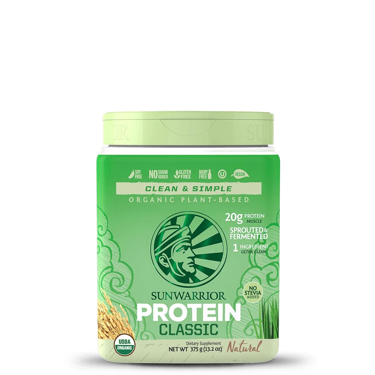 Sunwarrior Classic Protein 375g 814784025896(base)