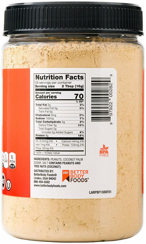 PBfit Peanut Butter Powder 15oz