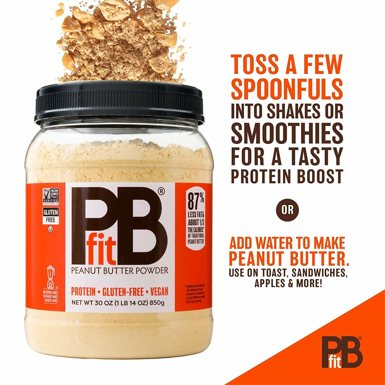 PBfit Peanut Butter Powder 8oz 897922002836(base)