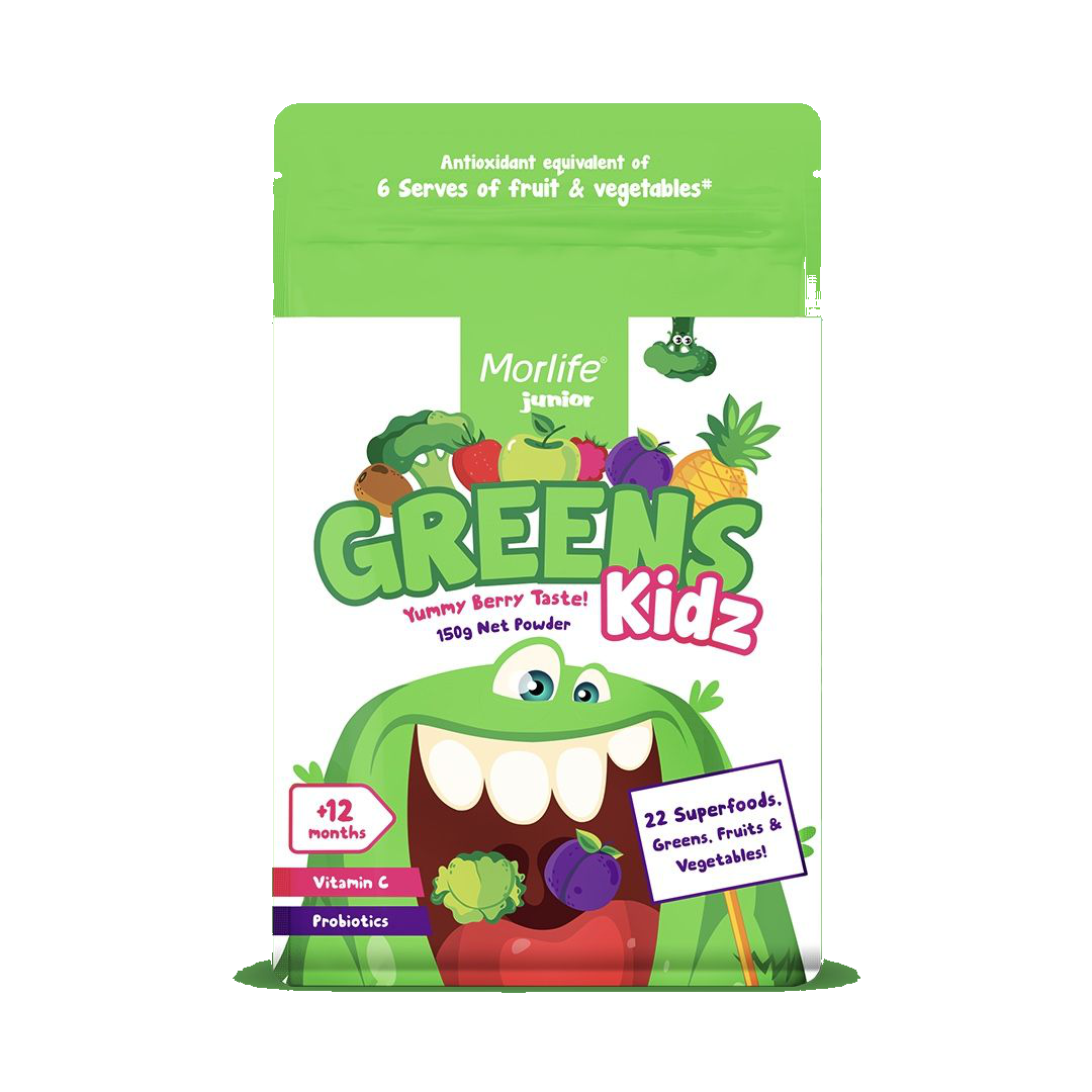 Morlife Greens Kidz 150g 9335153005482