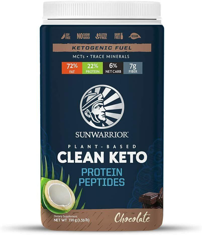 Sunwarrior Clean Keto Protein Peptides 750g