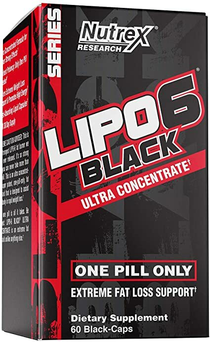 Nutrex Lipo 6 Black - 60 Black-Caps 853237000714