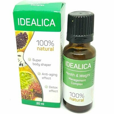 Drops for weight loss Idealica (Idealika)