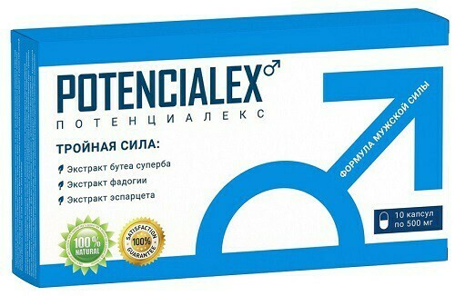 Capsules for potency Potencialex