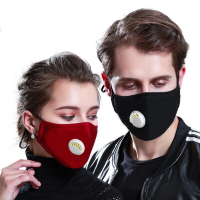 KN95 Dust Masks With 2 Filter Pad PM2.5 respirator Dust masks 5 layer protection Unisex same as N95/ffp2/kf94