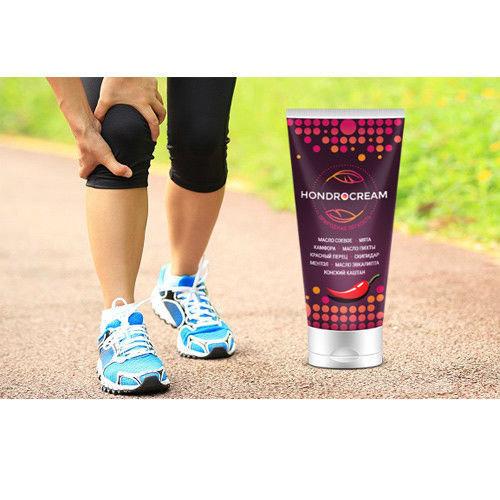 100% Natural ingredients Hondrocream - joints, back, osteochondrosis, arthrosis