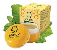 100% Natural ingredients Authentic bee propolis Cream-wax zdorov - prostatitis