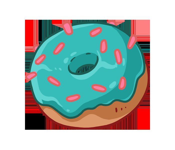 """Значок """"Пончик"""""""