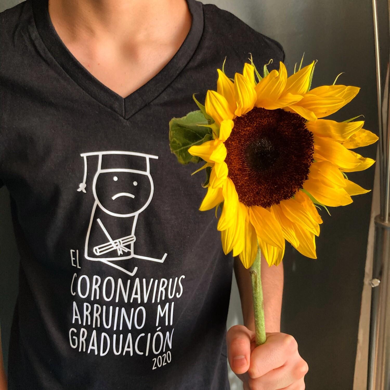 Playera El Coronavirus Arruino mi Graduación