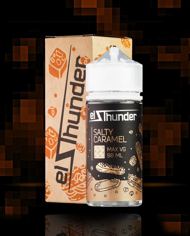 EL THUNDER: SALTY CARAMEL 97ML