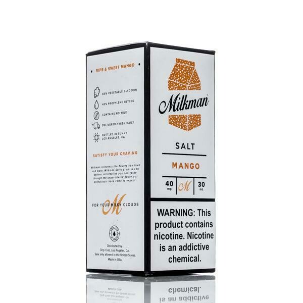 ЖИДКОСТЬ THE MILKMAN SALT: MANGO 30ML