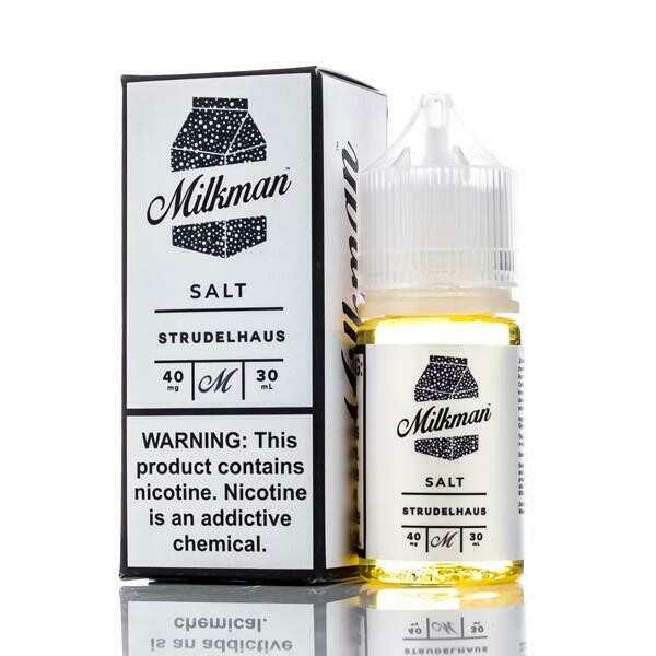 ЖИДКОСТЬ THE MILKMAN SALT: STRUDELHAUS 30ML