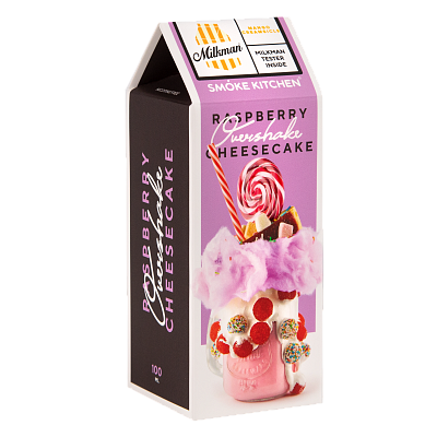 ЖИДКОСТЬ SMOKE KITCHEN OVERSHAKE: RASPBERRY CHEESECAKE 100ML