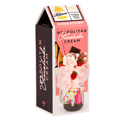 ЖИДКОСТЬ SMOKE KITCHEN OVERSHAKE: NEAPOLITAN CREAM 100ML