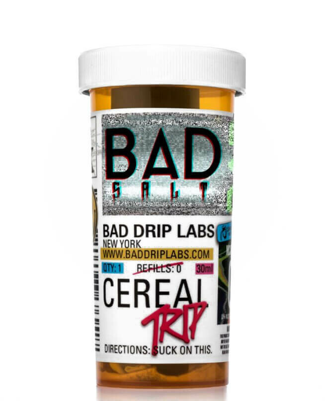 ЖИДКОСТЬ BAD DRIP SALTS: CEREAL TRIP  30ML