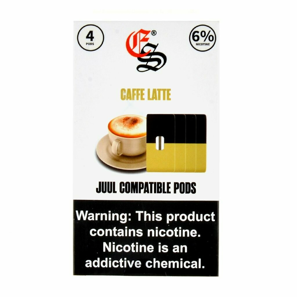EONSMOKE PODS: CAFFEE LATTE СМЕННЫЕ КАРТРИДЖИ ДЛЯ JUUL 2ШТ