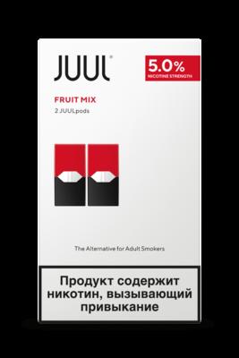 JUUL: FRUIT MIX СМЕННЫЕ КАРТРИДЖИ 2ШТ